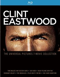 Clint Eastwood 7 Movie Collection Blu-ray