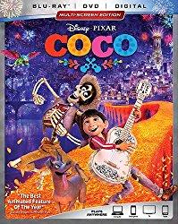 Coco Blu-ray Cover