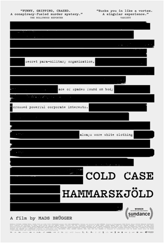 COLD CASE HAMMARSKJÖLD Release Poster