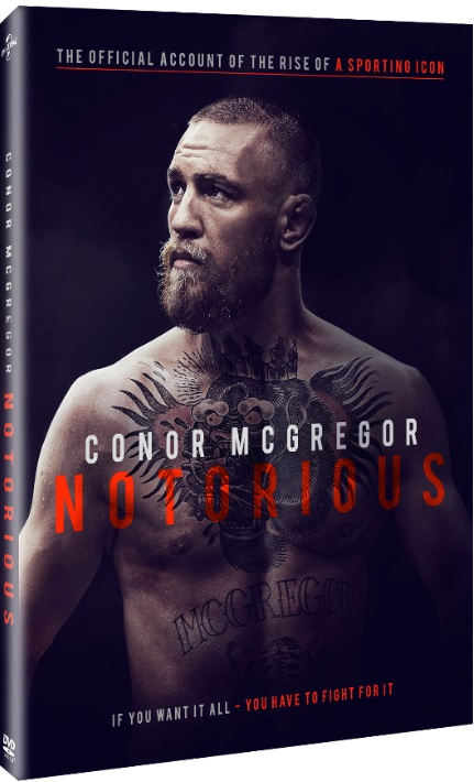 CONOR MCGREGOR NOTORIOUS DVD
