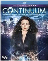Continuum Season 3 (Blu-ray + DVD + Digital HD)