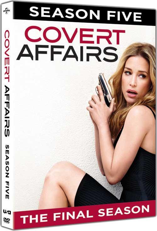 Covert Affairs Season Five DVD Review