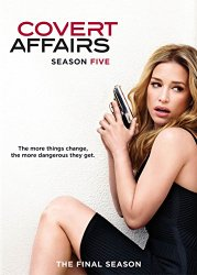 Covert Affairs Season 5 (Blu-ray + DVD + Digital HD)
