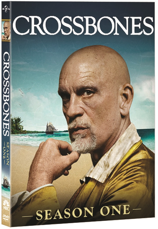 CROSSBONES SEASON ONE DVD