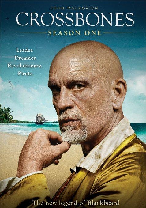 Crossbones Season 1  (Blu-ray + DVD + Digital HD)