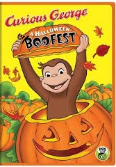 Curious George: A Halloween Boo Fest DVD