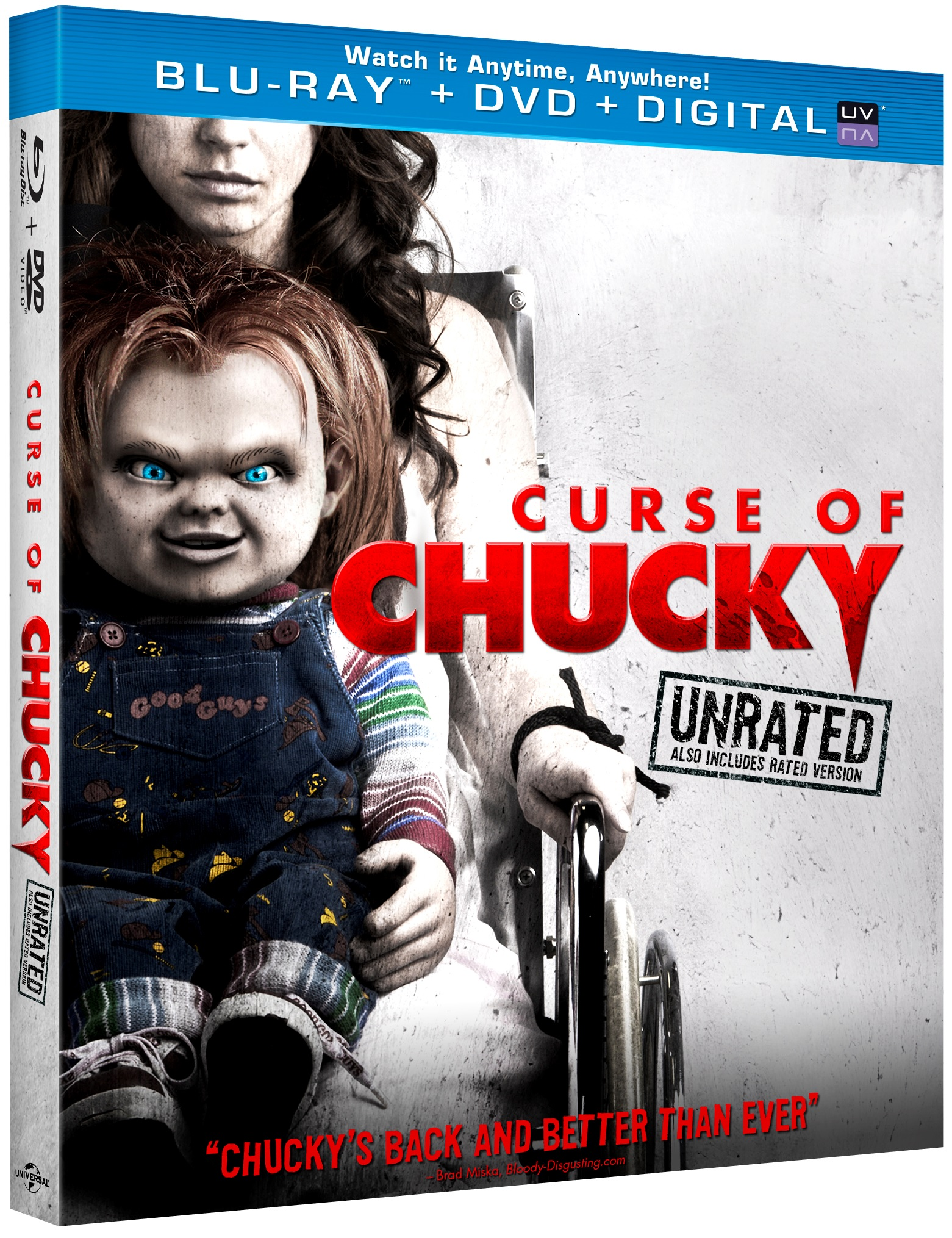 Curse of Chucky Blu-ray Review