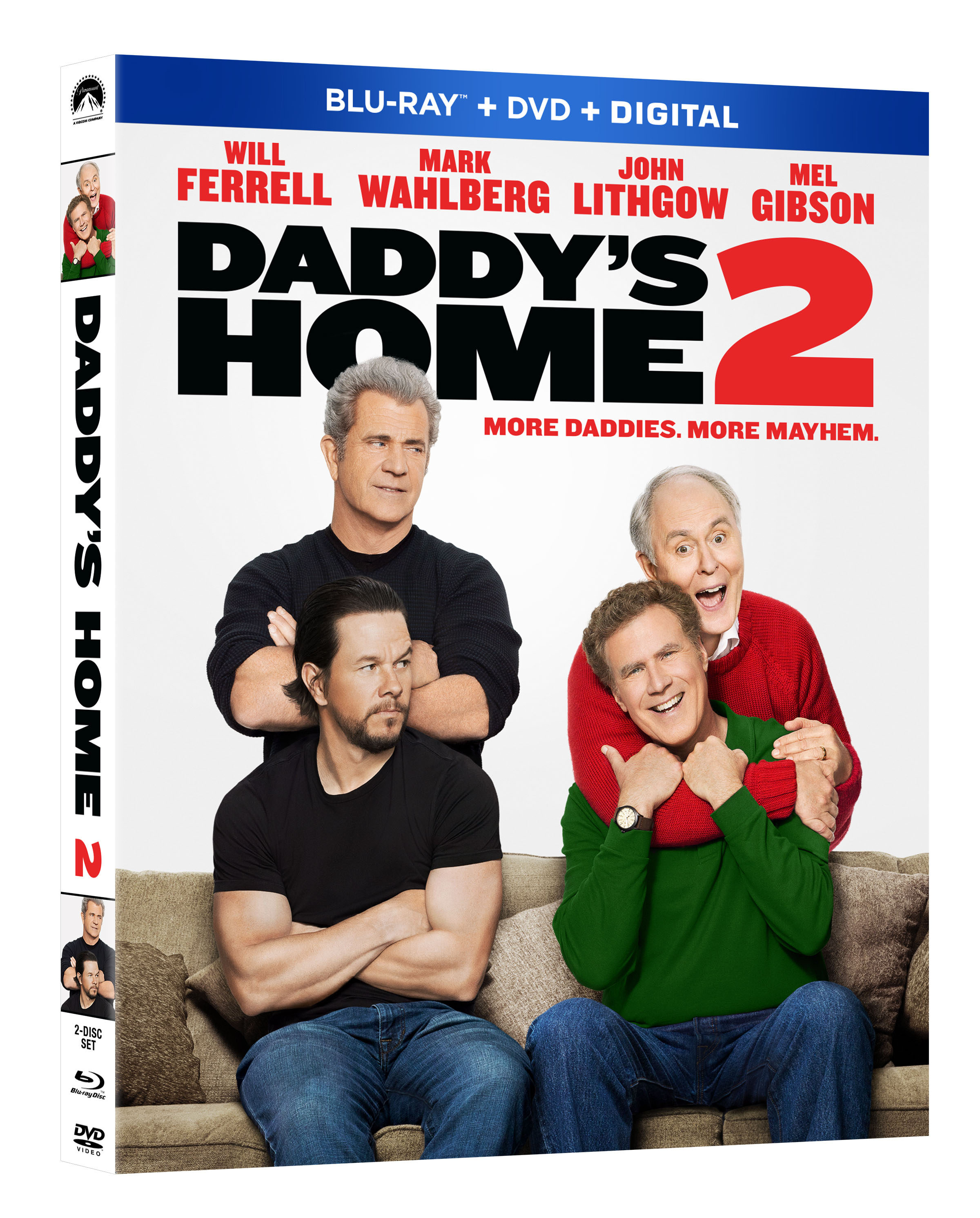 DADDY'S HOME 2 Blu-ray
