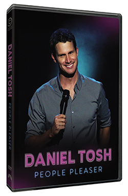 DANIEL TOSH PEOPLE PLEASER DVD