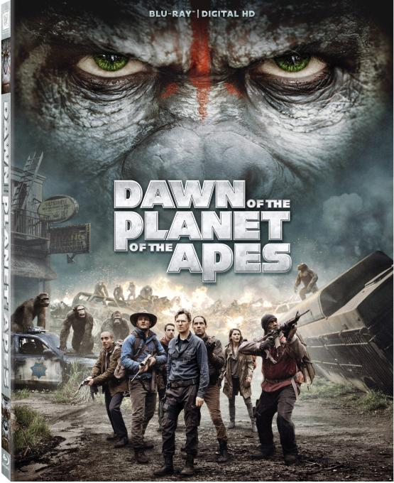 Dan of The Planet of The Apes blu-ray