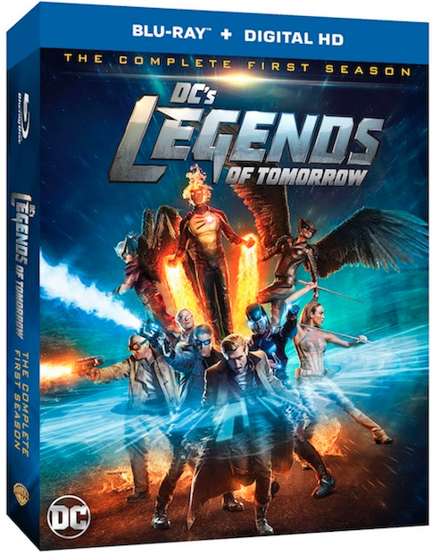DC's Lengends of Tomorrow Season One  Blu-ray Review