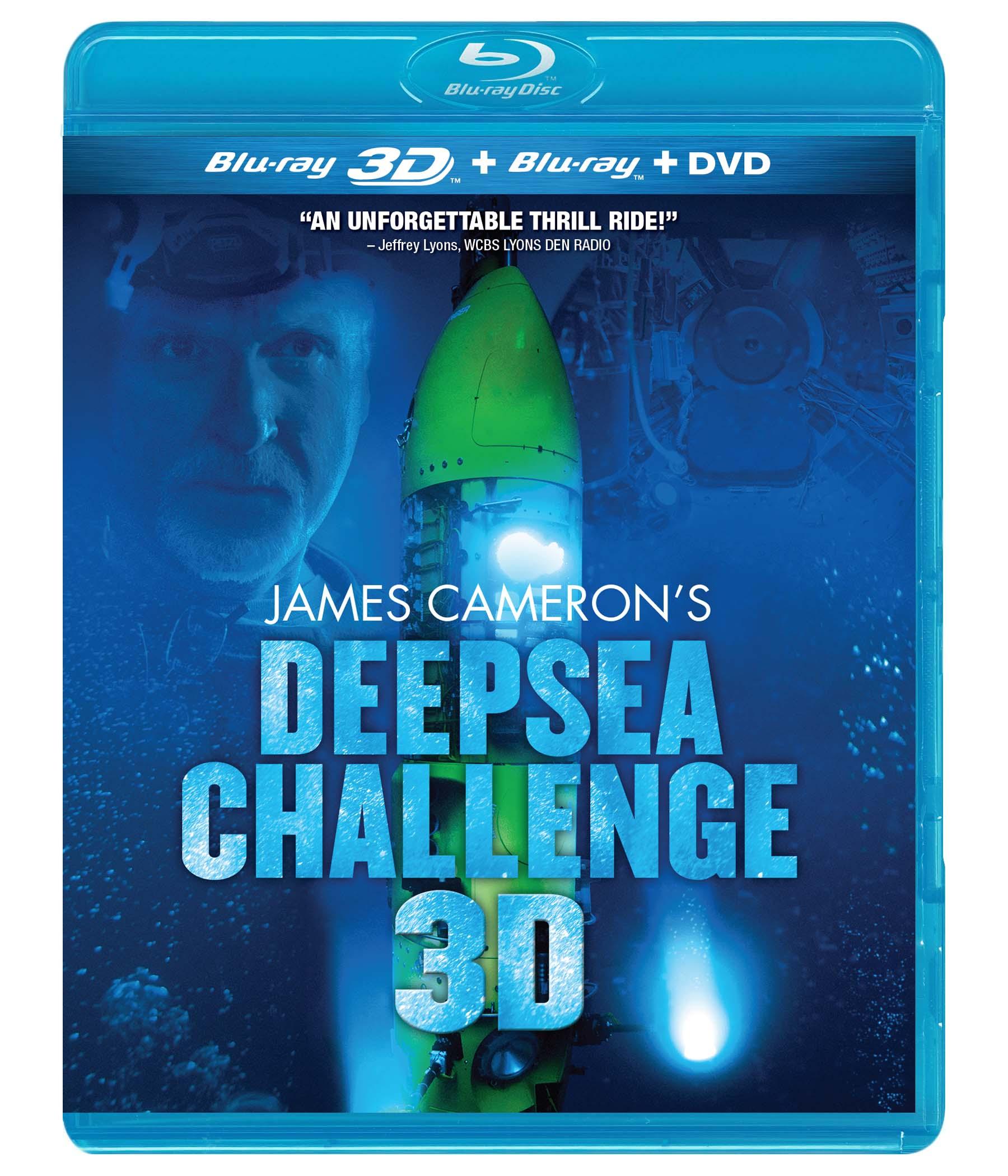 Deepsea Challenge 3D Blu-ray Review