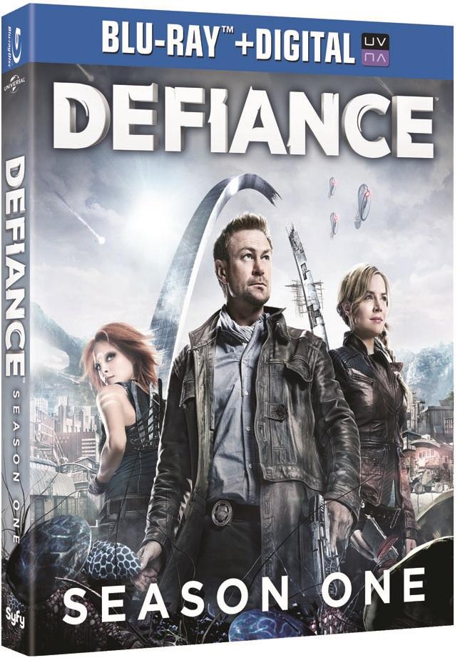 Defiance Season One  Blu-ray Review