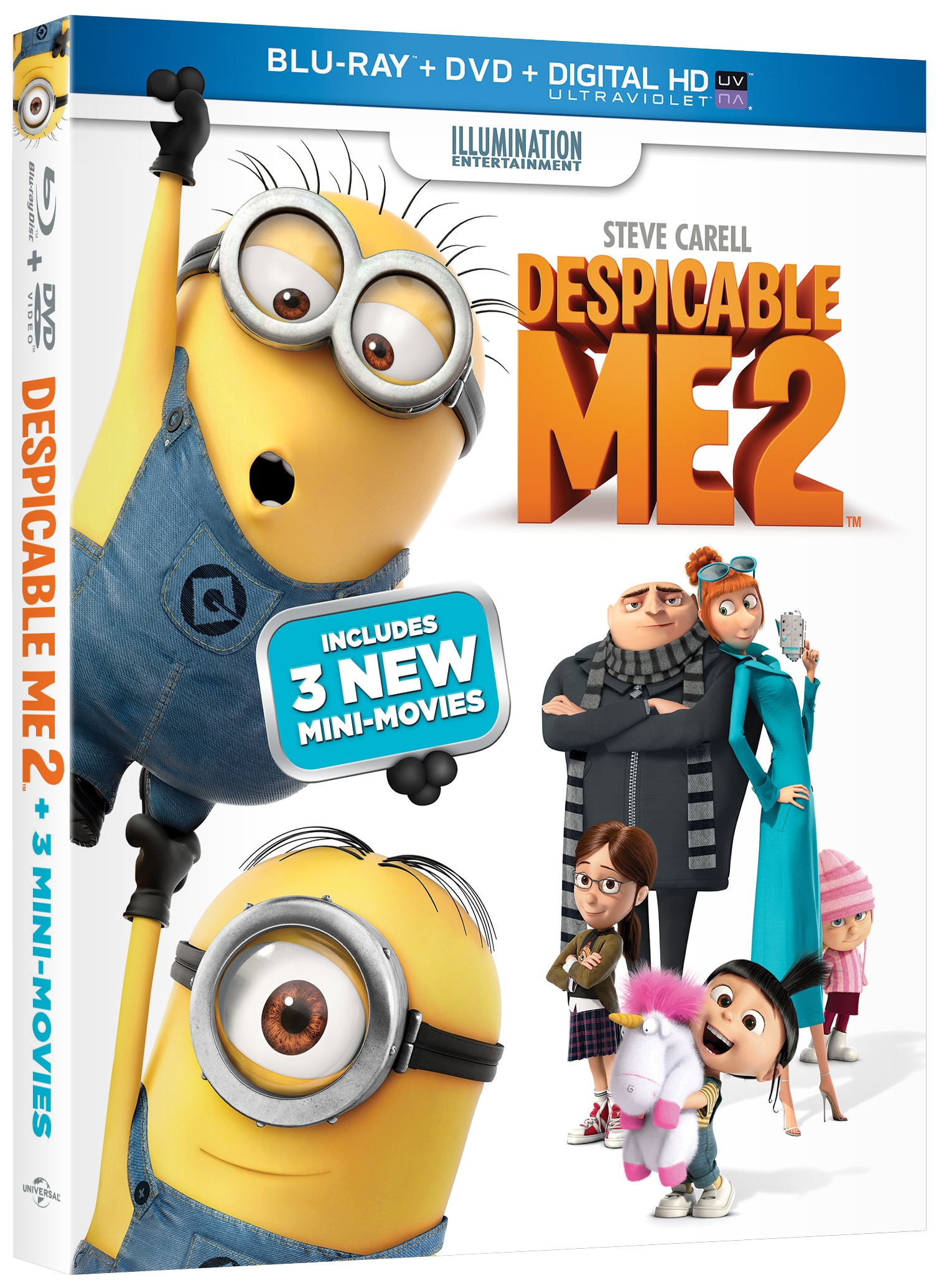 Despicable Me 2 Blu-ray Review