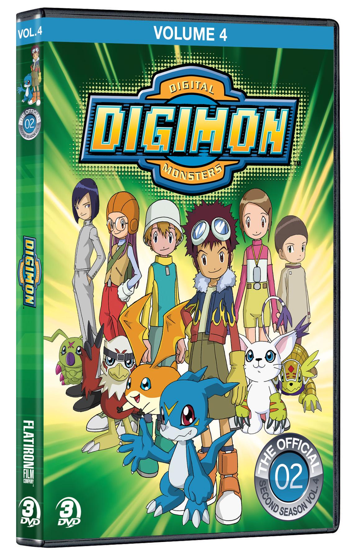 Digimon Volume 4 DVD