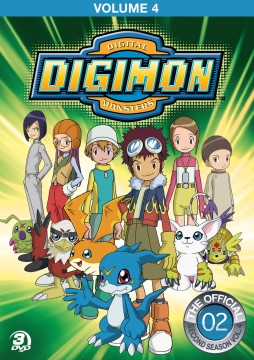 Digimon Season 2 Volume 4 DVD
