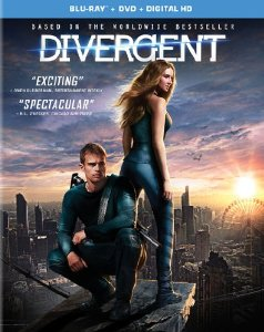 Divergent (Blu-ray + DVD + Digital HD with UltraViolet)