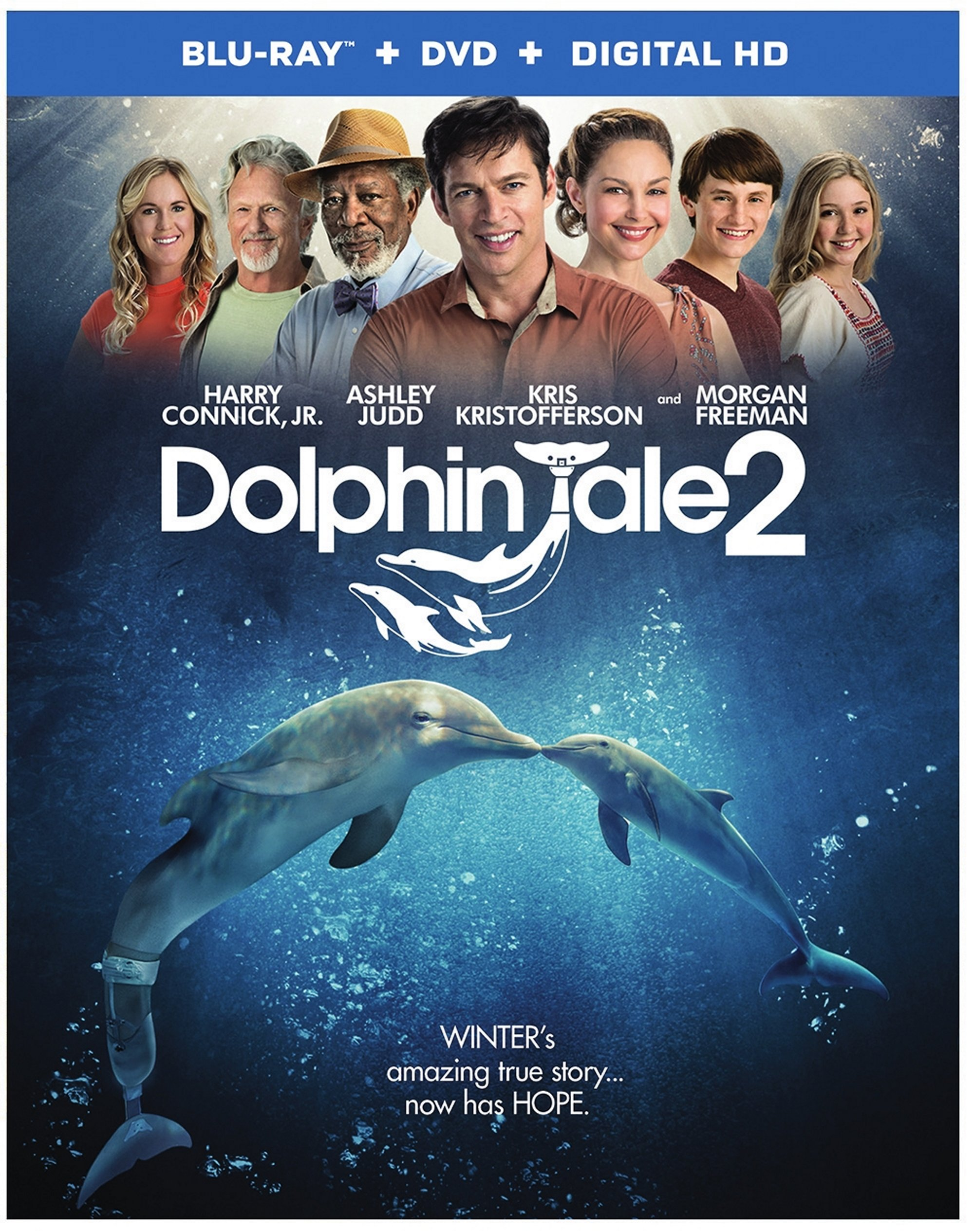 Dolphin Tale 2 Blu-ray