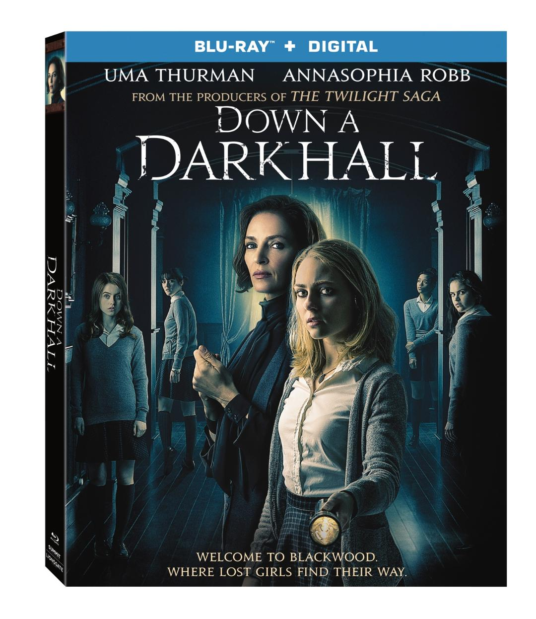 DOWN A DARK HALL Blu-ray