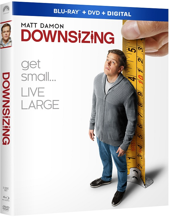 DOWNSIZING Blu-ray