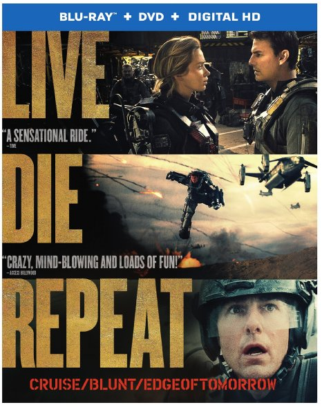 Edge of Tomorrow (Blu-ray + DVD + Digital HD)