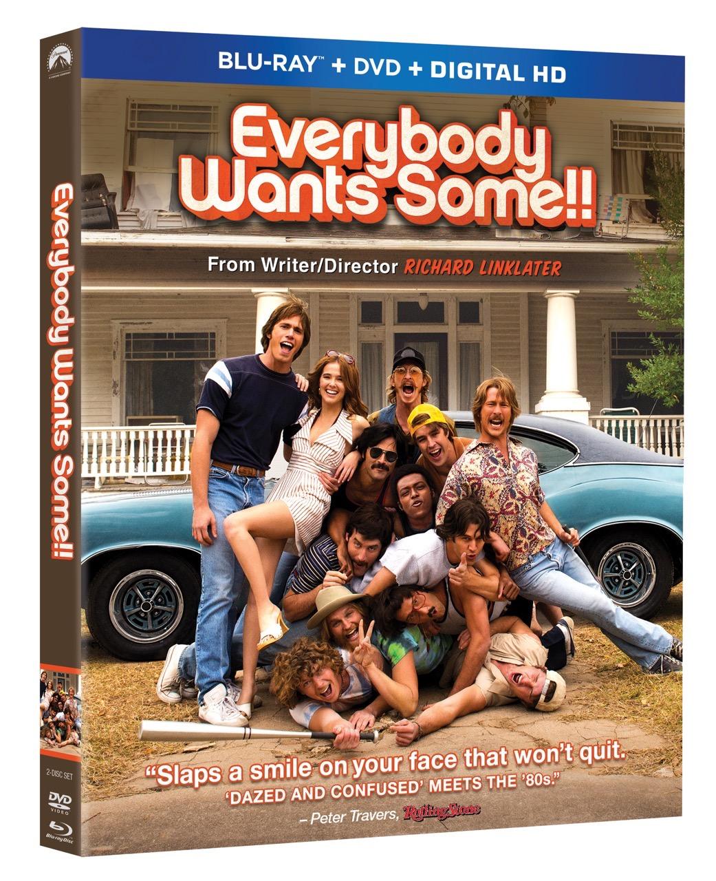 EVERYBODY WANTS SOME!! Blu-ray