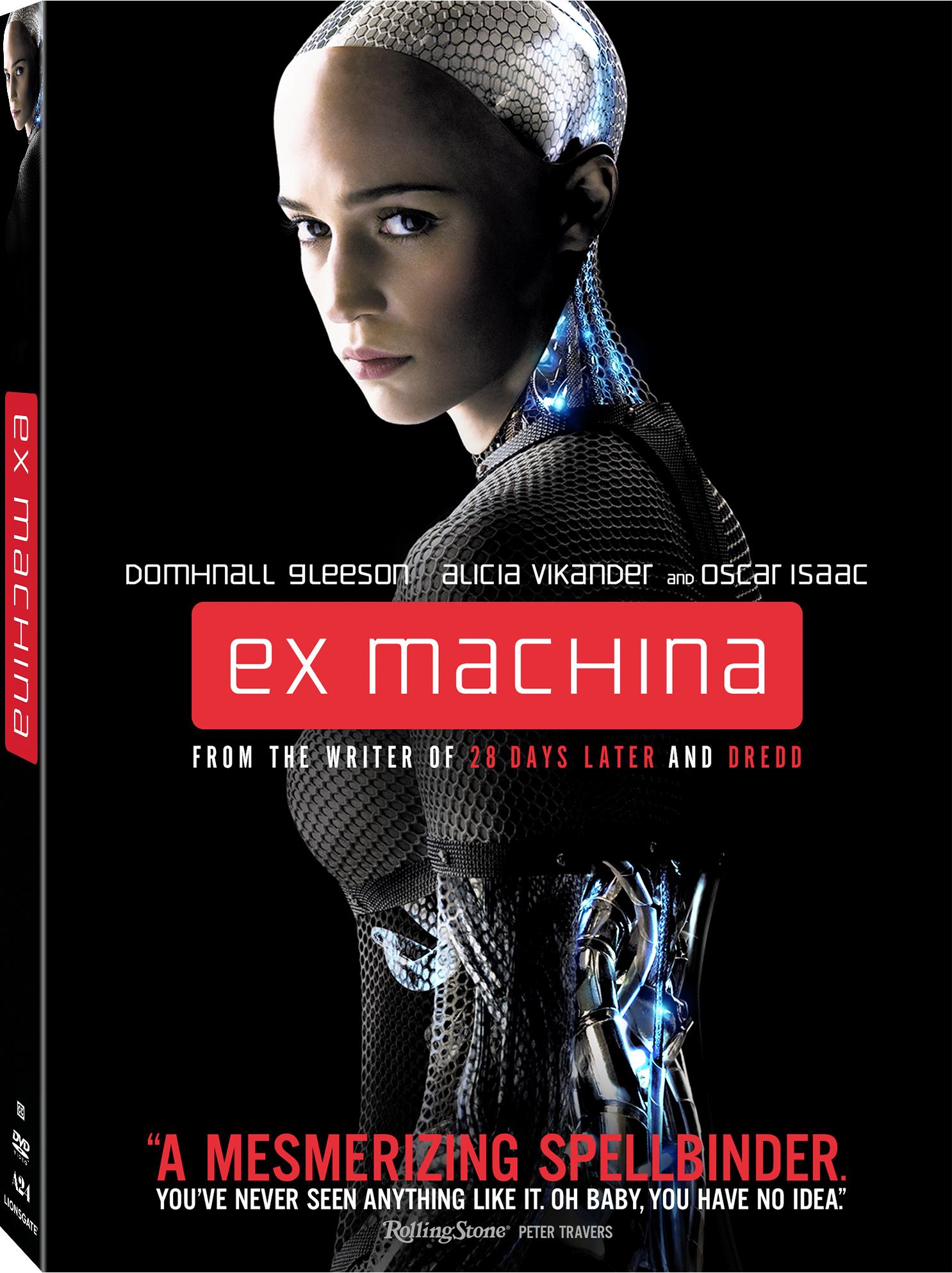 Ex-Machina  DVD Review