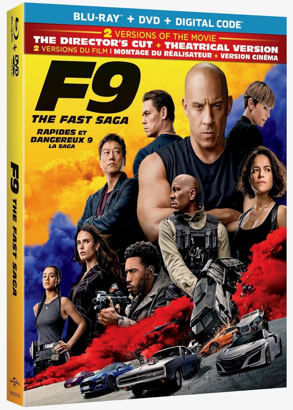 F9:The Fast Saga Blu-ray Review