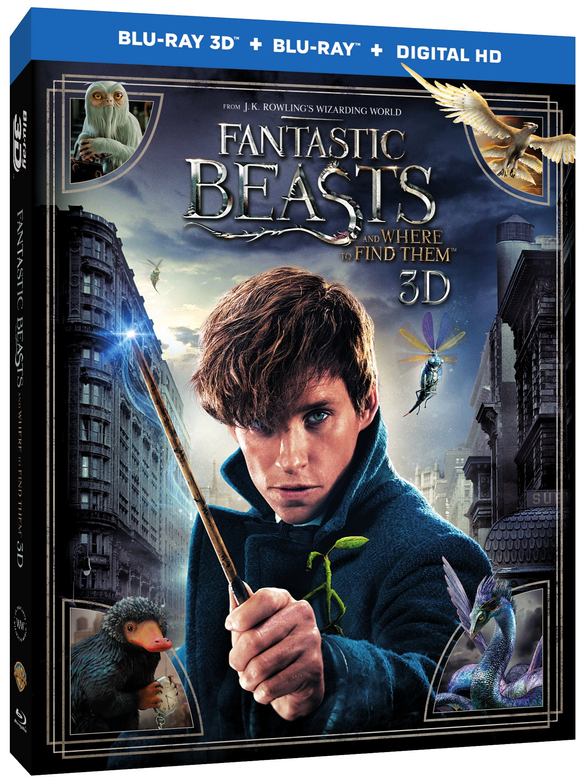 FANTASTIC BEAST AND WHERE TO FIND THEM Blu-ray