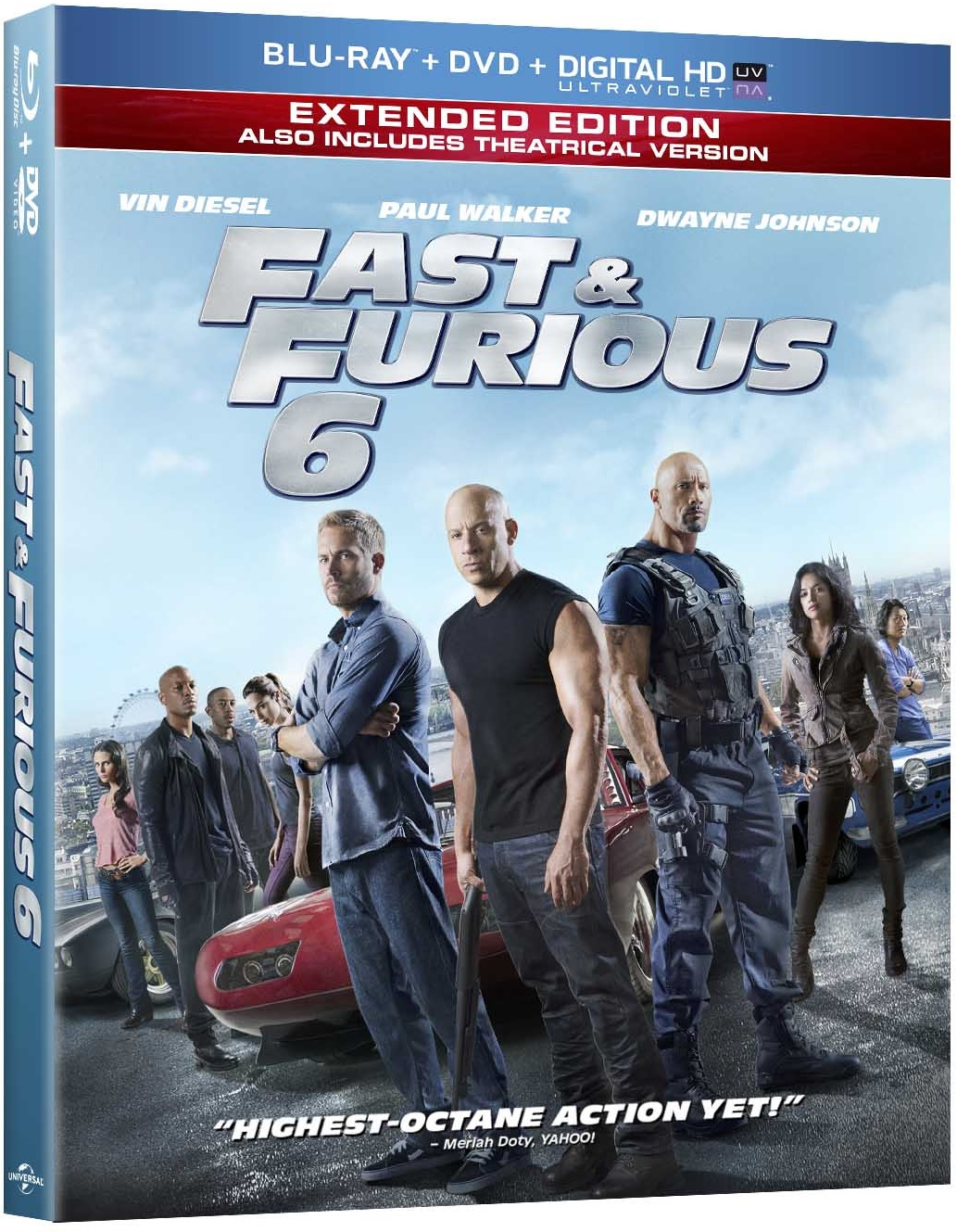 fast furious 6 blu ray review. Black Bedroom Furniture Sets. Home Design Ideas