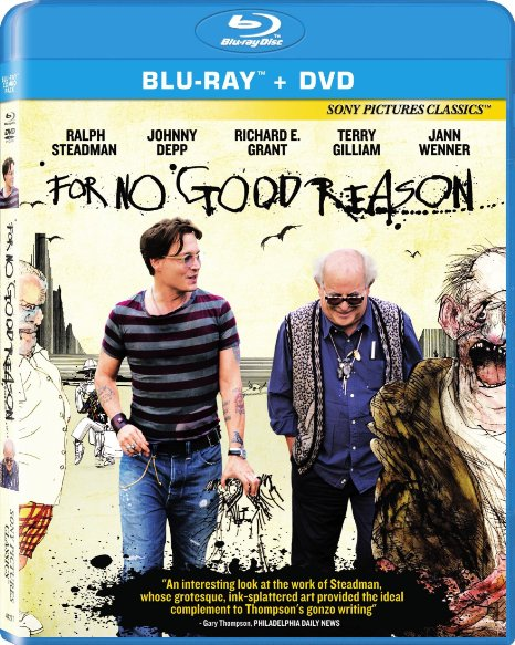 For No Good Reason (Blu-ray + DVD + Digital HD with UltraViolet)