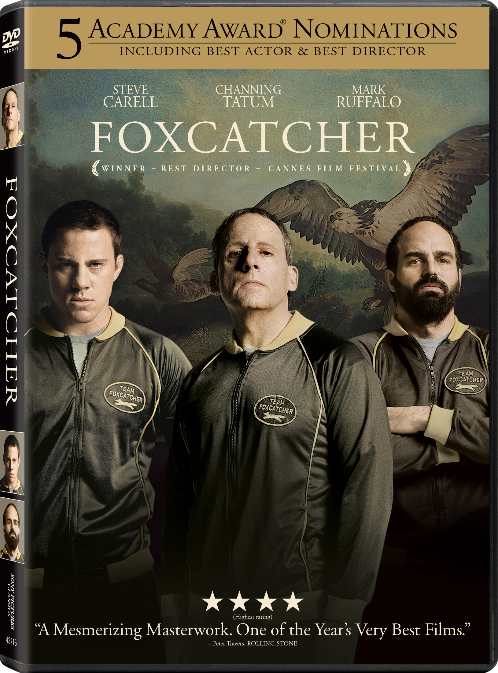 Foxcatcher DVD Review