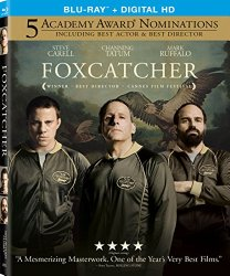 Foxcatcher (Blu-ray + DVD + Digital HD)