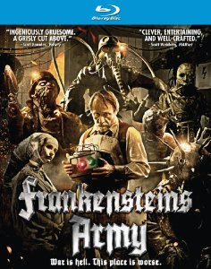 Frankenstein's Army DVD