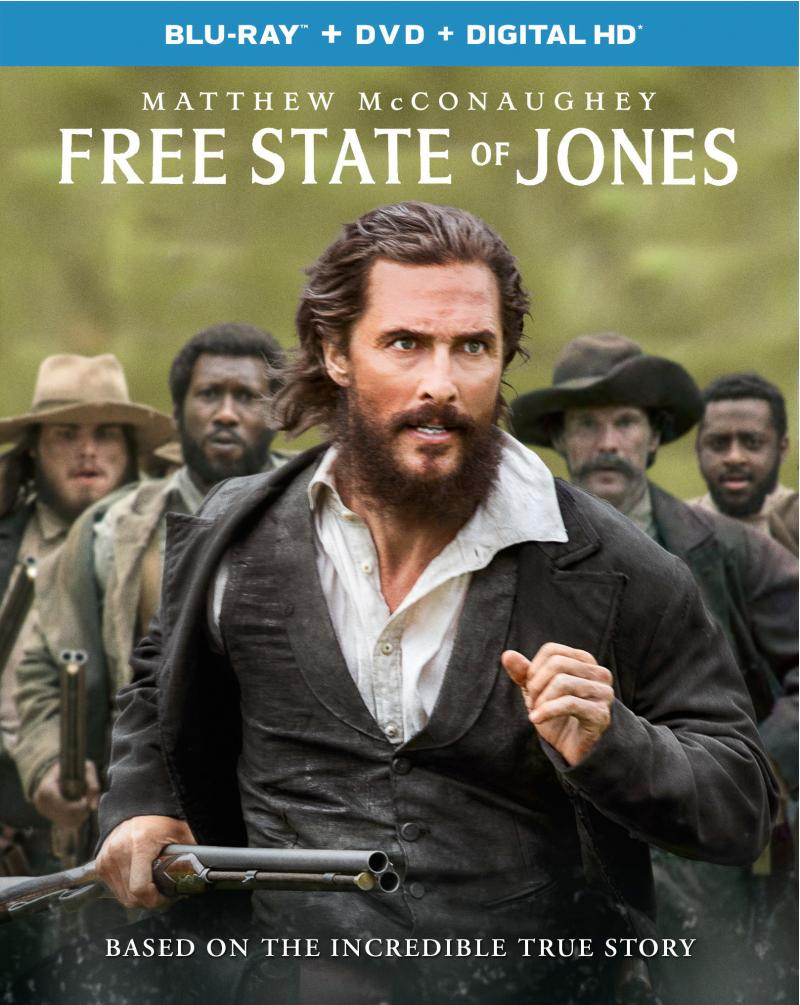 Free State of Jones Blu-ray Review