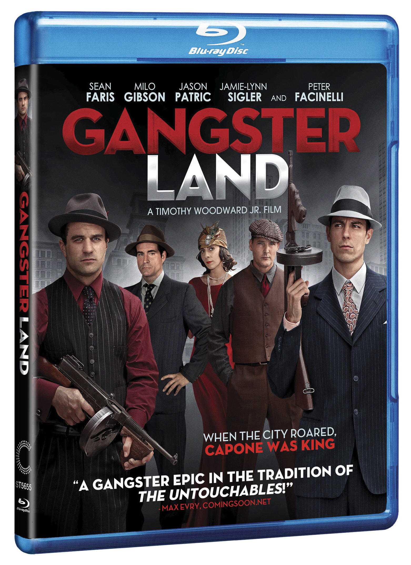 Gangster Land Blu-ray Review