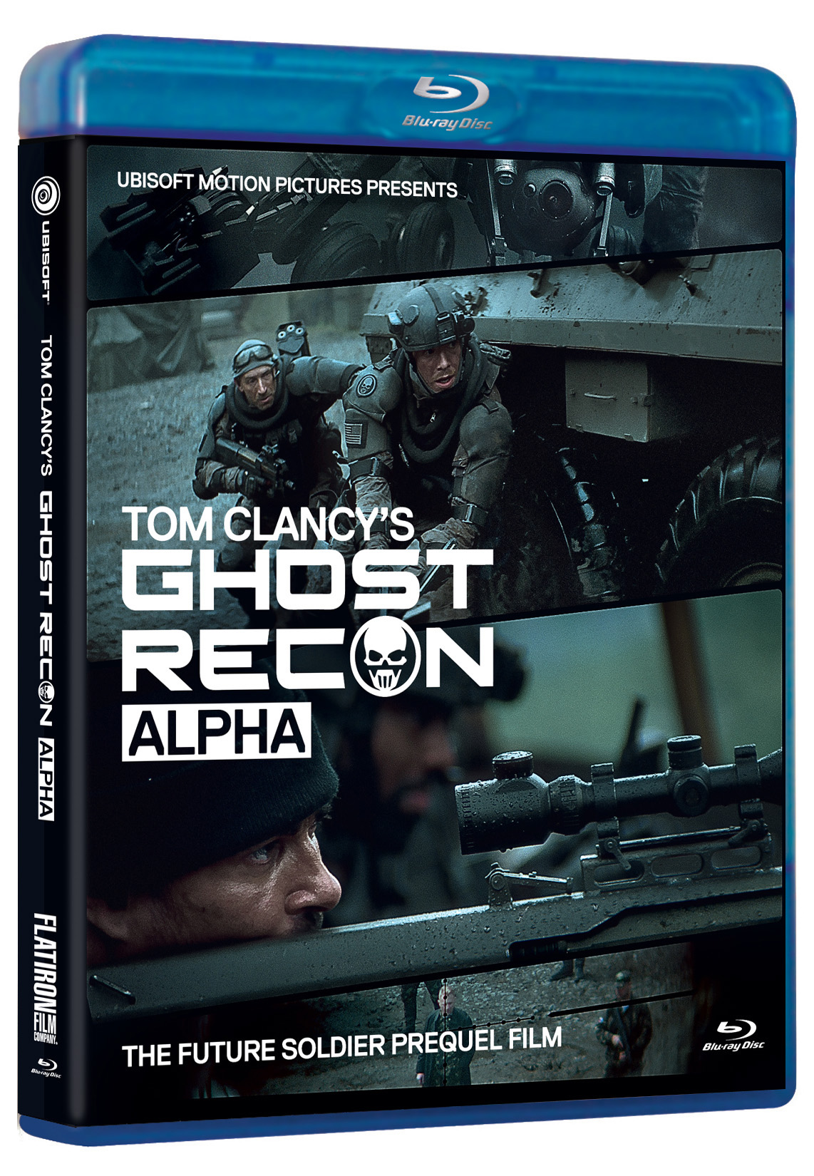 Ghost Recon Alpha Blu Ray Review