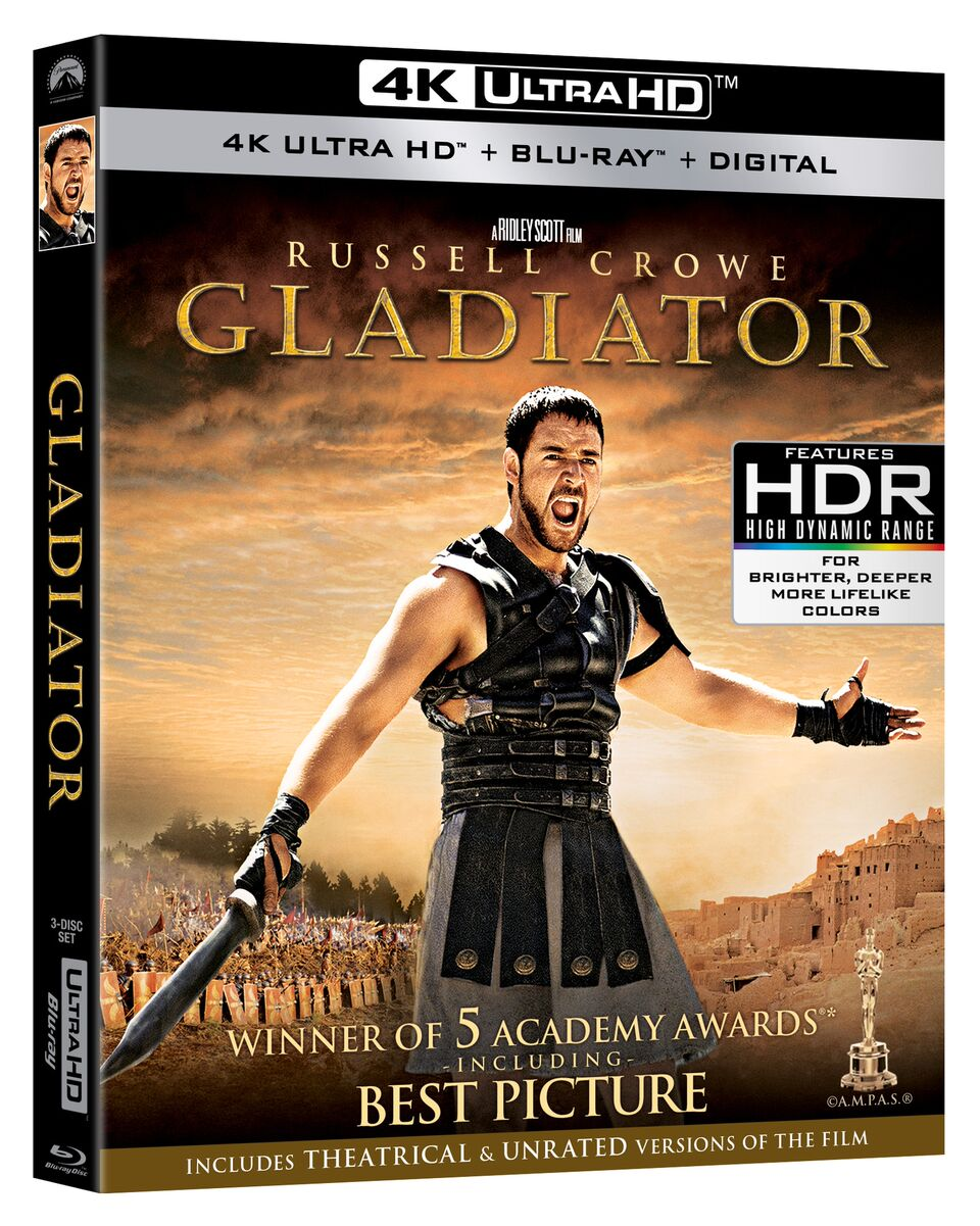 Gladiator Blu-ray Review