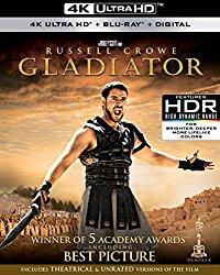 Gladiator 4K (Blu-ray + DVD + Digital HD)