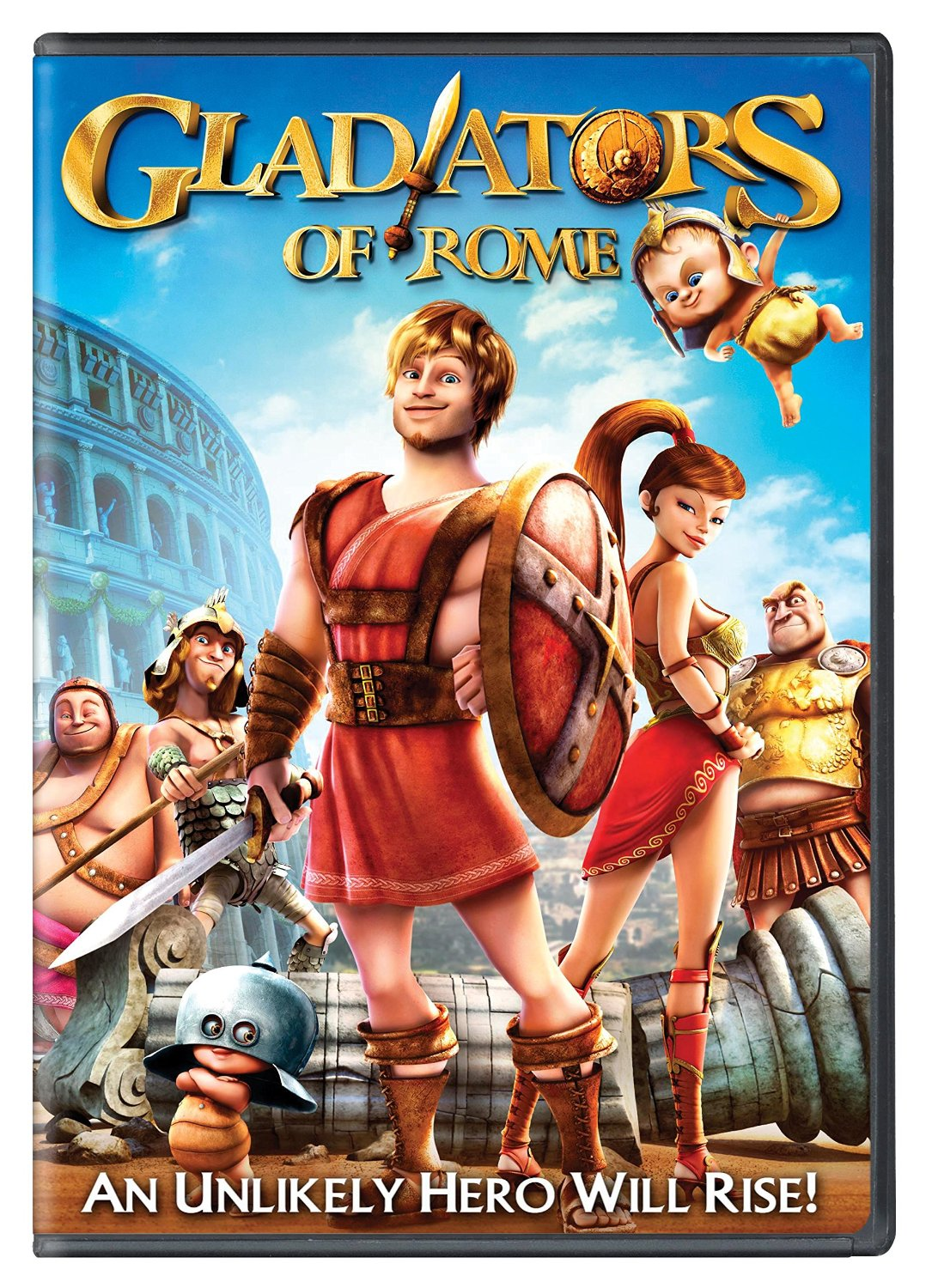 THE GLADIATORS OF ROME DVD