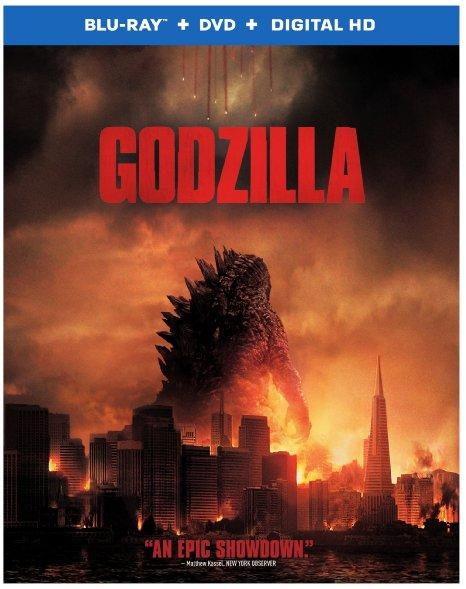 Godzilla (Blu-ray + DVD + Digital HD)