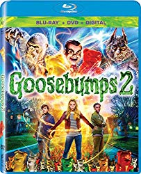 Goosebumps 2(Blu-ray + DVD + Digital HD)
