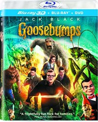 Goosebumps Blu-ray Cover