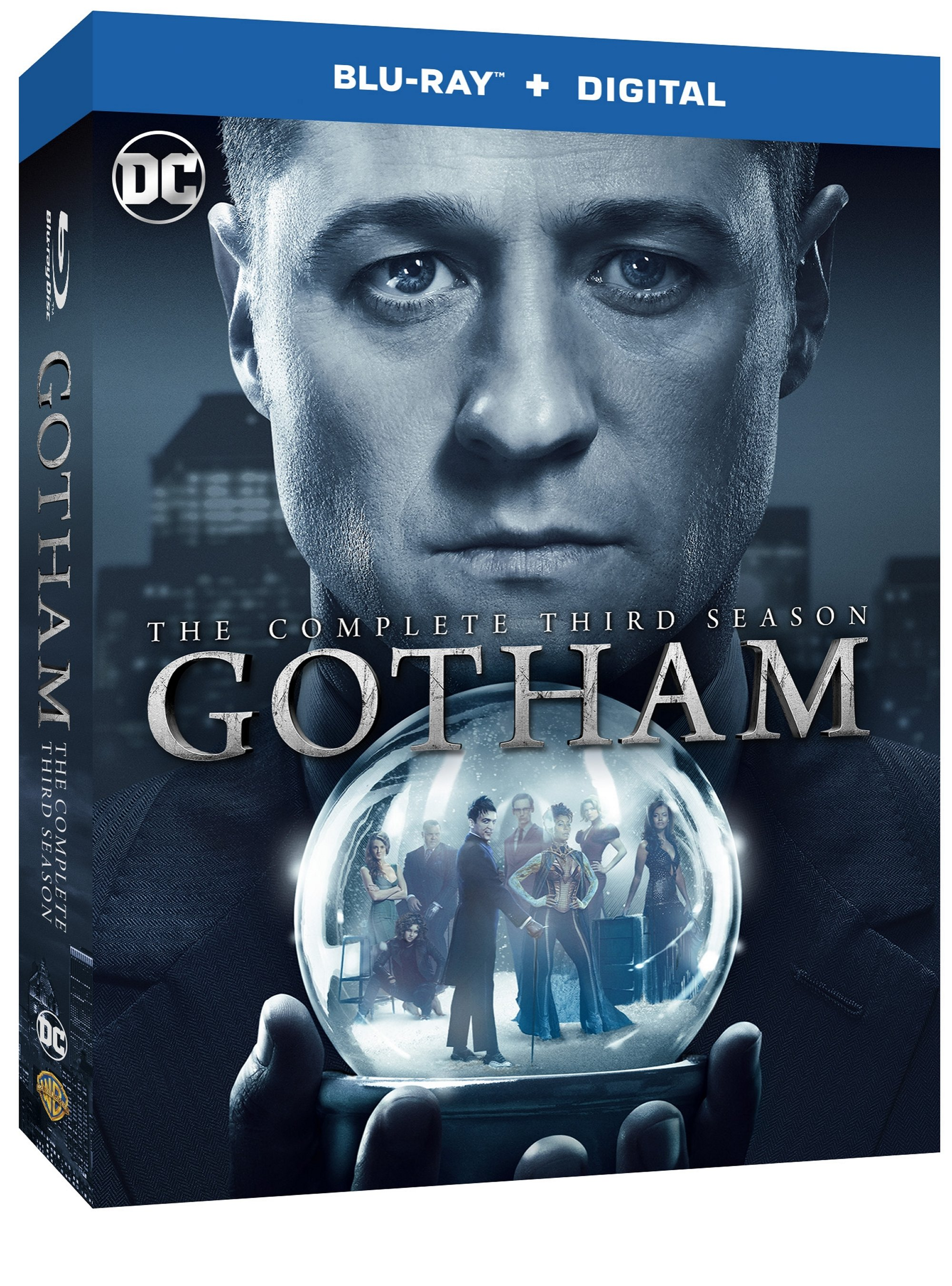 GOTHAM SEASON THREE Blu-ray