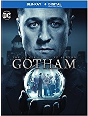 Gotham Season 3 Blu-ray Cover