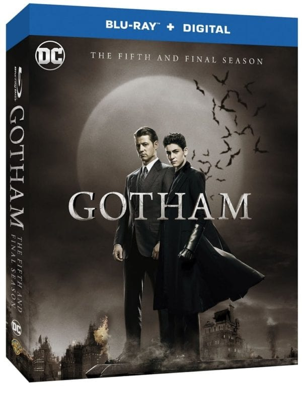 GOTHAM SEASON FIVE Blu-ray