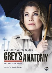 Greys Anatomy  Season 12 Blu-ray Cover
