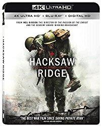 Hacksaw Ridge (Blu-ray + DVD + Digital HD)