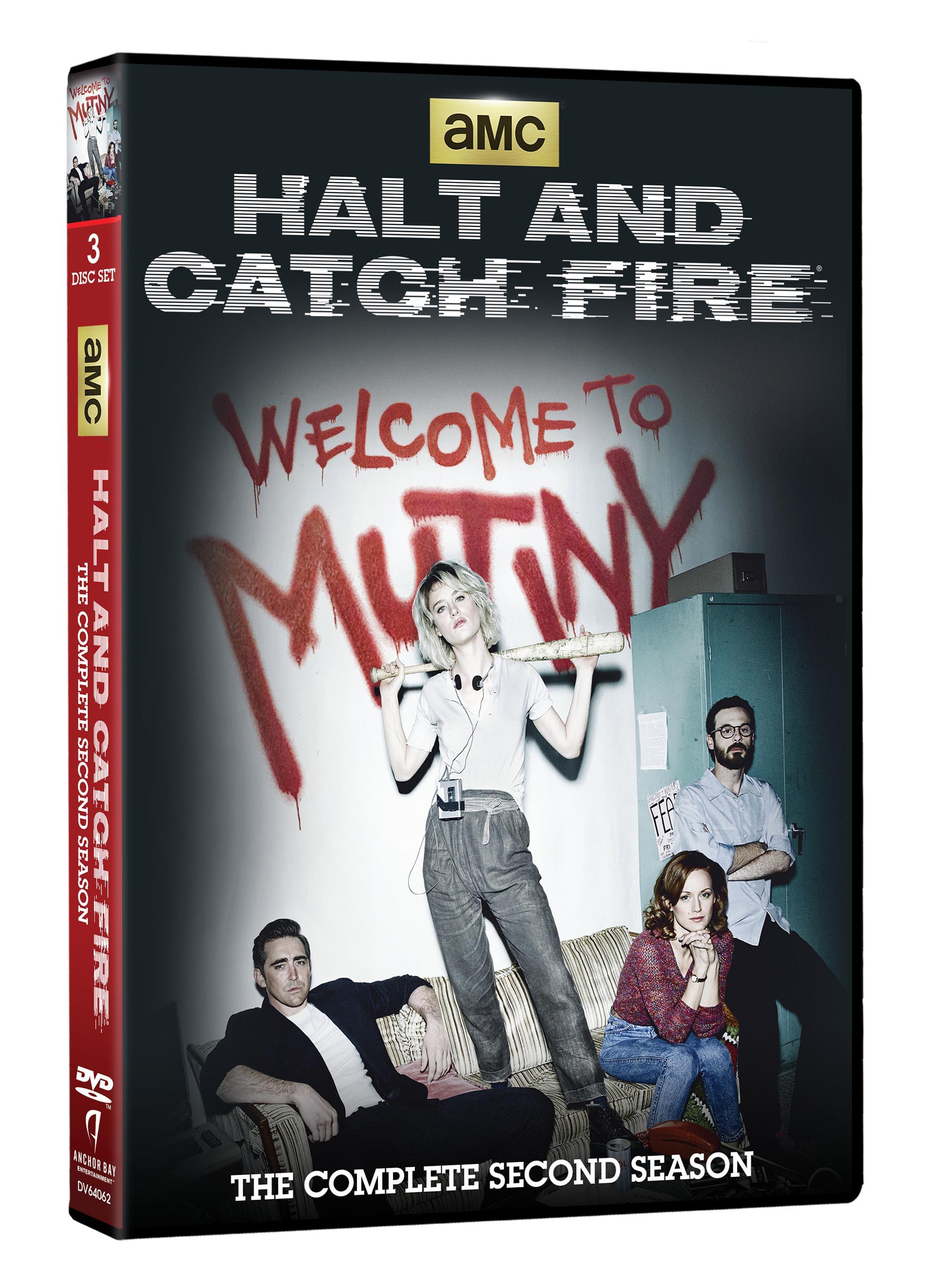HALT AND CATCH FIRE SEASON TWO DVD