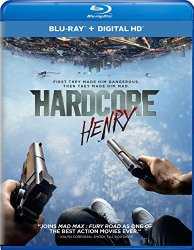 Hardcore Henry Blu-ray Cover